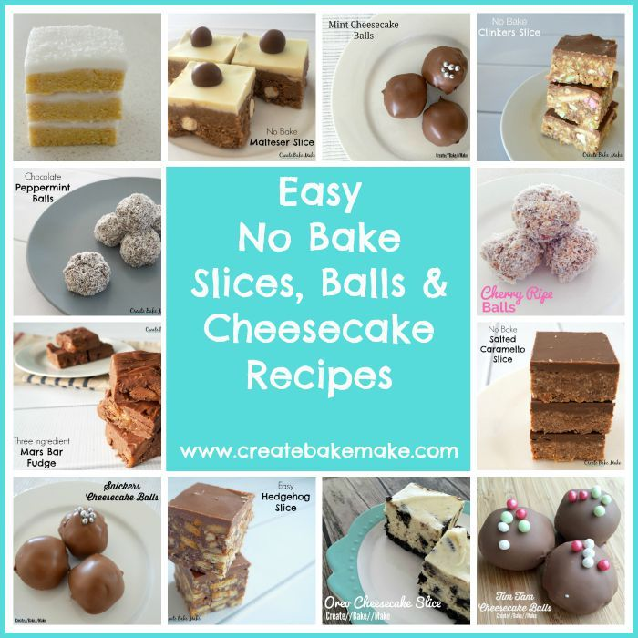 No Bake Snickers Slice Recipe - Create Bake Make