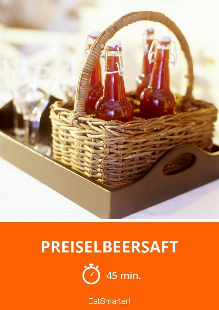 Preiselbeersaft - smarter - Zeit: 45 Min.   eatsmarter.de