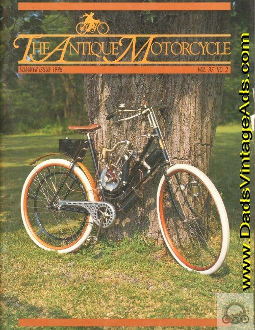 """The E.R. Thomas Story. """"Edward R. Thomas was the father of the American-built motor bicycle."""""""