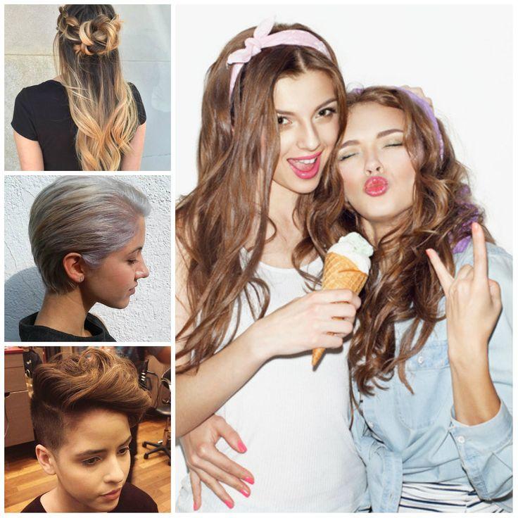 2017 Elegante, Penteados e Cortes de cabelo para Meninas Adolescentes - http://bompenteados.com/2016/12/27/2017-elegante-penteados-e-cortes-de-cabelo-para-meninas-adolescentes.html