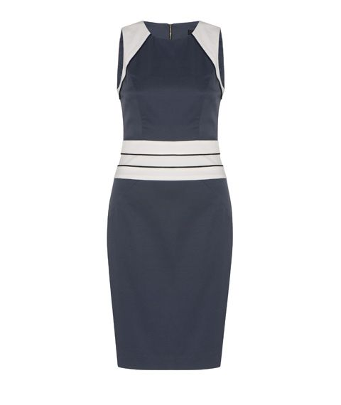 Spliced Shift Dress by Cue
