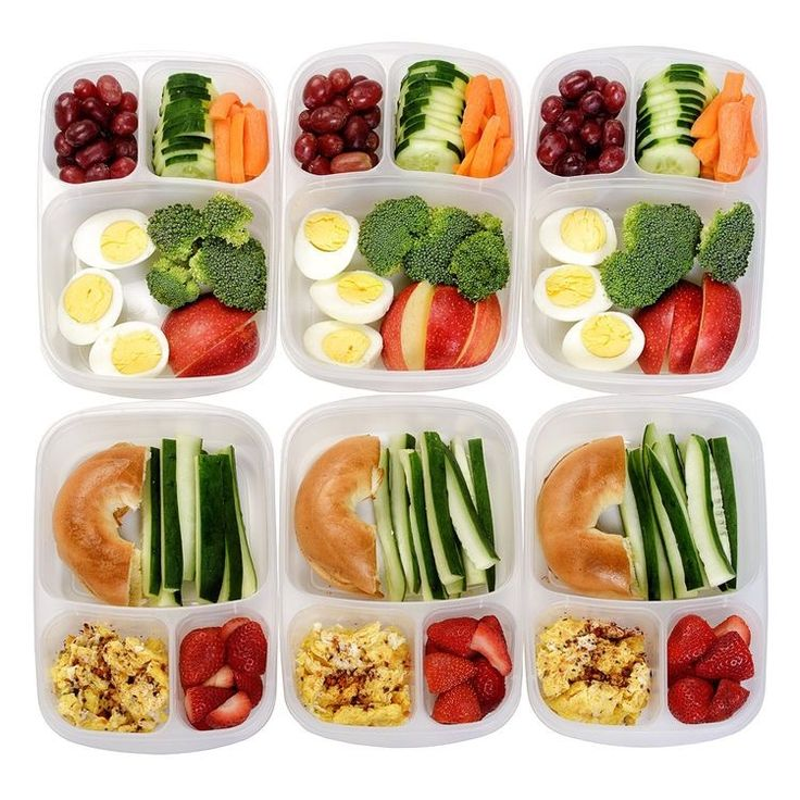 Taking an hour to plan meals for lunch and dinners allows you to eat healthy without the time-constraint stress!