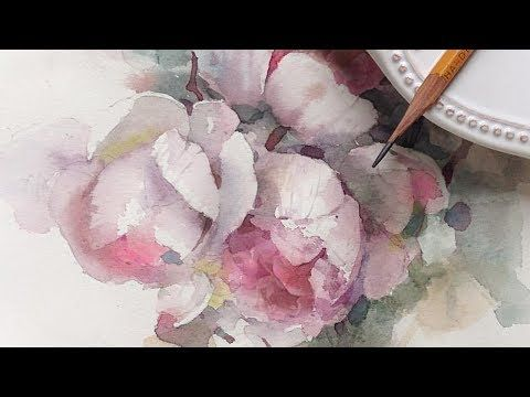 """""""FALL FOLIAGE"""" Step by step Narrated Transparent Watercolor Tutorial - YouTube"""