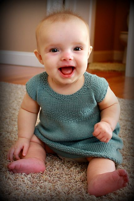 Ravelry: Sadie Baby Dress pattern by Nicole Montgomery