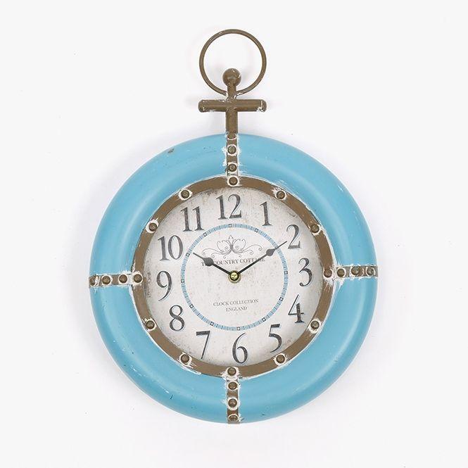 Relógio Marinheiro Azul | A Loja do Gato Preto | #alojadogatopreto | #shoponline | referência 107864841