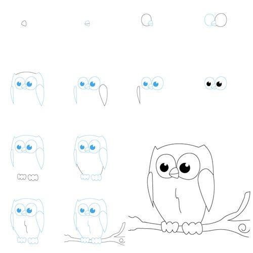 Wonderful Idea For Drawing Easy Animal Figures   WonderfulDIY.com
