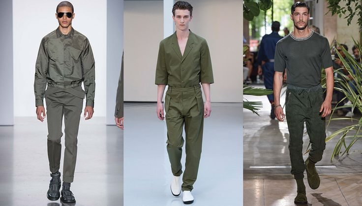 ... 20 tendances homme printemps-été 2016  Green, Dior homme and Paris