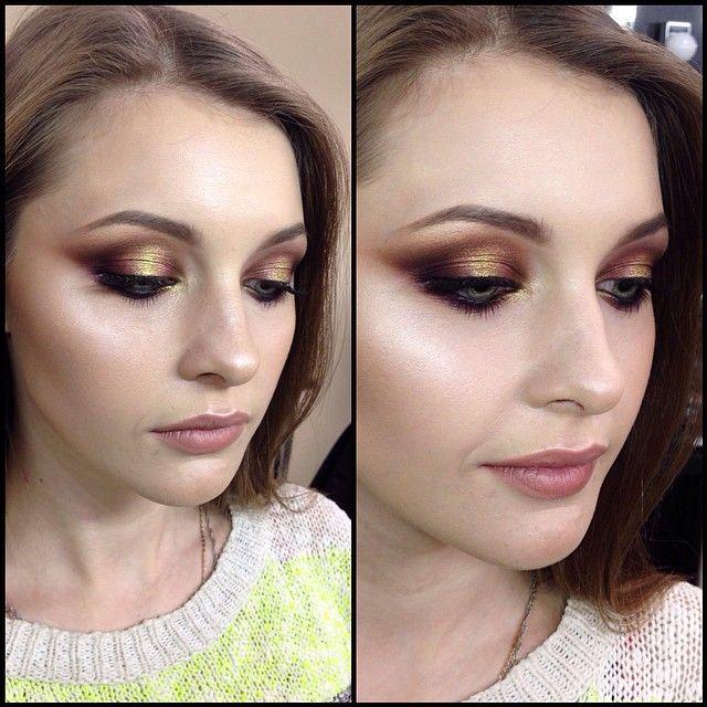 #tominamakeup #mac #mua #mufe #makeup #marcjacobs #makeupforever#beauty #gold#goldenmakeup#smoky#smokyeyes#макияж #модель #смоки#смокиайз#пигмент#pigments#обучение#pro-beauty сегодня на курсе повышения квалификации визажистов моя демонстрация на модели