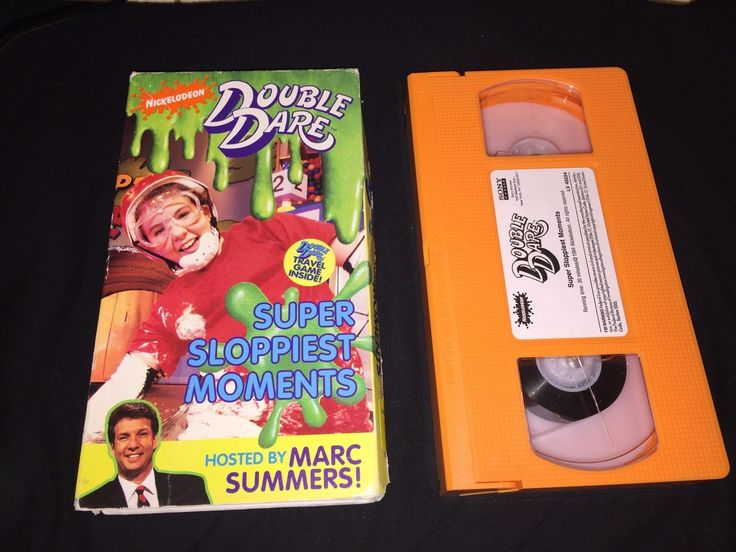 Double Dare Super Sloppiest Moments VHS 1994 RARE Nickelodeon Video L K 074644922431 | eBay