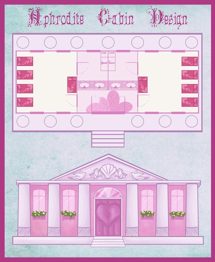 DR: Aphrodite Cabin Design by Marmarlade.deviantart.com on @DeviantArt