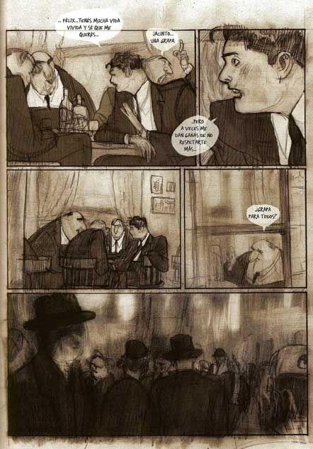 Página de Fueye de Jorge González – 04 | Cómics en Sigue al conejo blanco