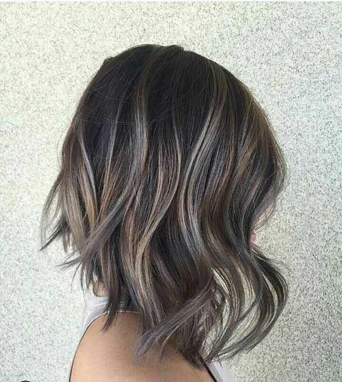 Wavy Short Hairstyles 14 Gray In 2018 Pinterest Hair Hair