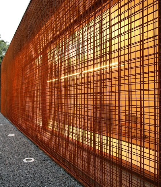 Reinforcing steel mesh screen