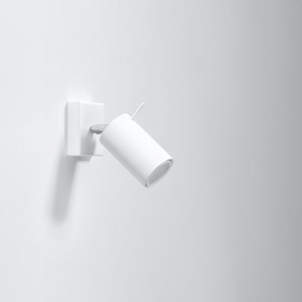 Nowoczesny Design! Efektowny Kinkiet RING biały LED! – Sklep Lampex