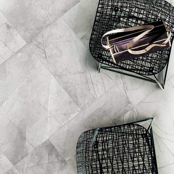 Latest drop - Pulpis range.   >>Italian made porcelain imitates natural stone with deep exposed veins of marble.