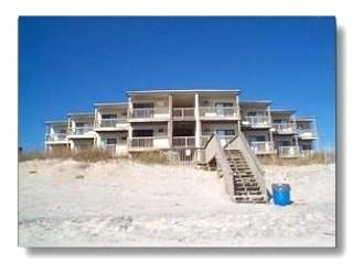 From ocean center unit top floor lt side - Above the Sea,Topsail Reef 306 - North Topsail Beach - rentals