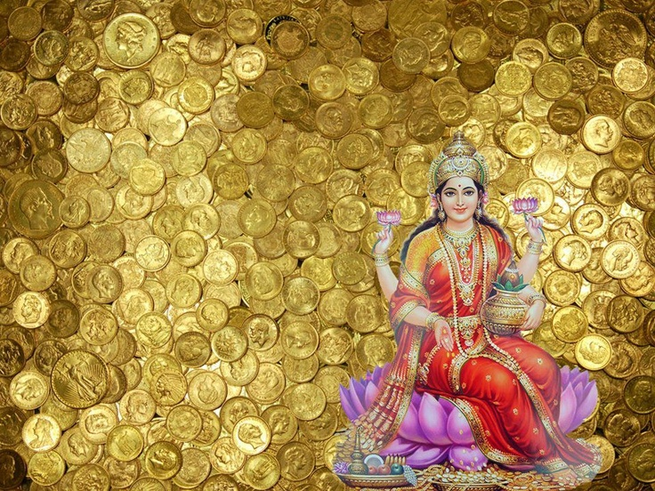 Image result for माँ लक्ष्मी money rupees