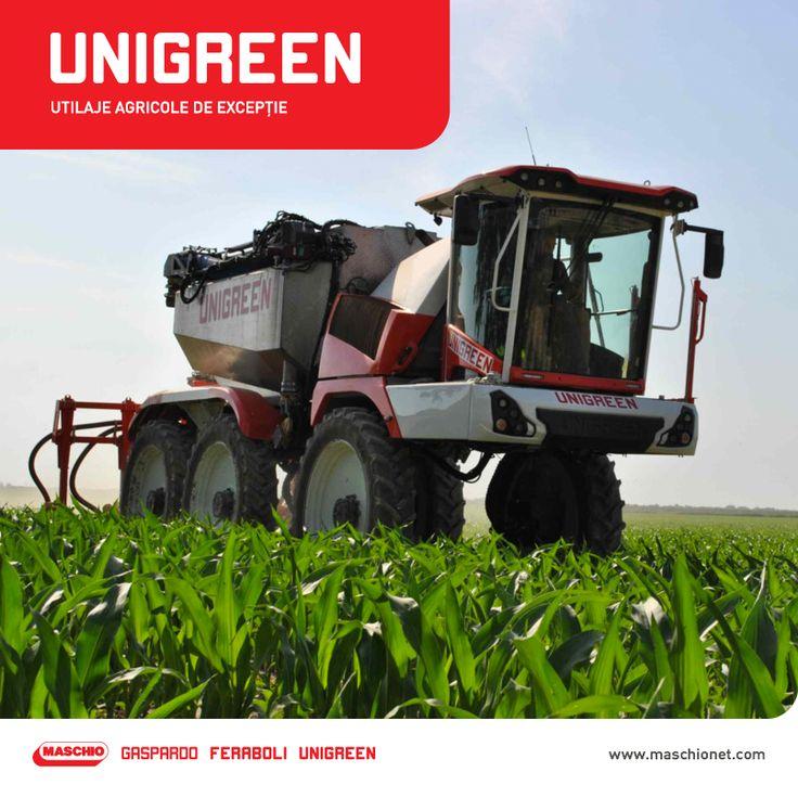 Unigreen este o companie italiană specializată în producția de sprayere, mașini de ierbicidat și alte utilaje de protecție a plantelor. În 2013, Maschio Gaspardo cumpără Unigreen și devine astfel și producător de sprayere, lărgind gama de utilaje agricole pe care le produce. Unigreen este cea de-a opta firmă a grupului.