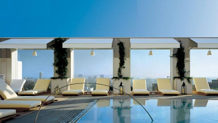 280 best los angeles images on pinterest los angeles - Best hotel swimming pools in los angeles ...