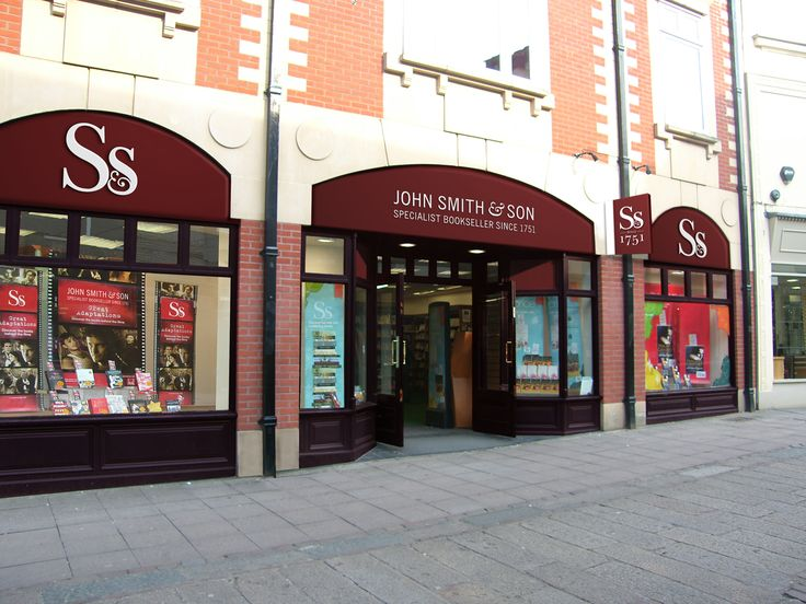 John Smith & Son. Brand Identity. Store Front. Signage.