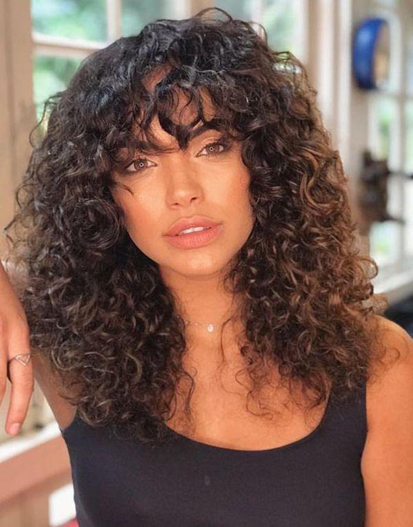 10 Stylish And Trendy Curly Hairstyles For Fine Hair Curly Hair Styles Naturally Curly Hair Styles Curly Hair Inspiration
