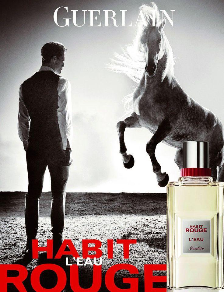 Ollie Edwards By Steven Klein For Guerlain Habit Rouge L Eau Fragrance Campaign Fragrance Advertising Fragrance Adverts Fragrance Campaign