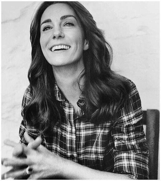 Another portrait from Catherine's photoshoot for #Vogue100 with @britishvogue #KateMiddleton #DuchessOfCambridge 5.3.16