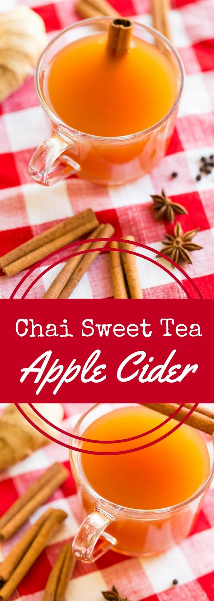 A blend of apple cider, tea, and chai spices, this delicious Chai Spiced Sweet Tea Hot Apple Cider recipe is perfect for fall, winter, and the holidays. @drinkmilos #PassTheMilos #Pmedia #ad via @recipeforperfec