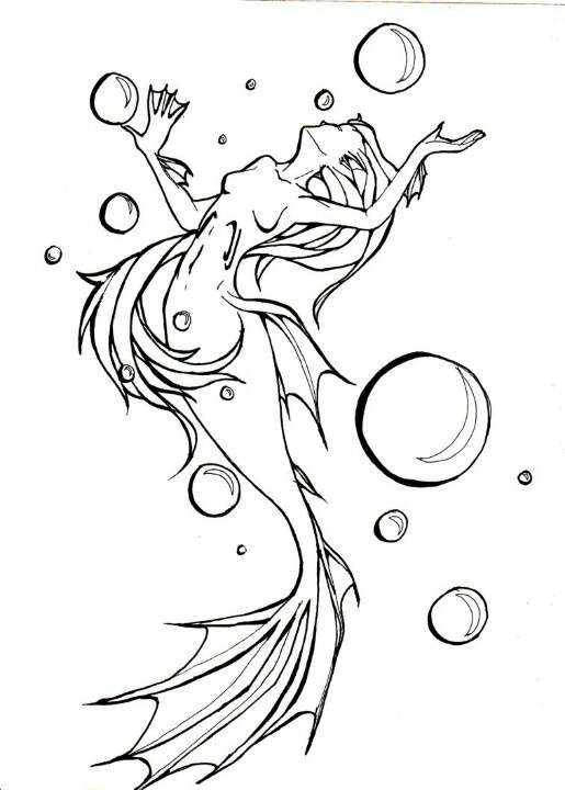 mermaid coloring mermaid style coloring books coloring sheets embroidery ideas wicca colour book digital stamps copic