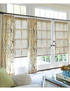 window doors with transom window treatment - Google Search