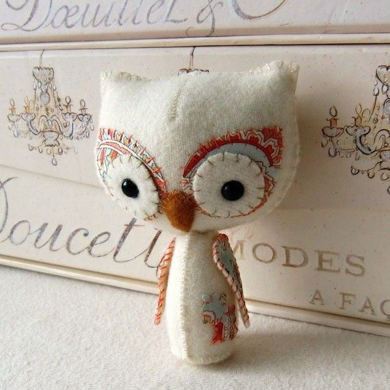 so cute!Owls Pattern, Crafts Ideas, Felt, Pdf Pattern, Owls Boards, Owls Pdf, Parties Ideas, Owls Stuff, Woodland Owls