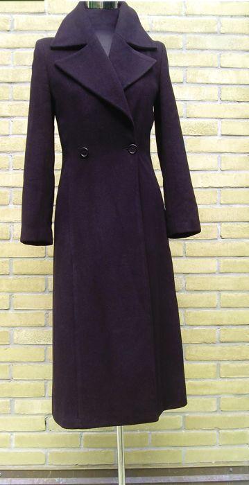 Valentino elegante cappotto nero  - 1990