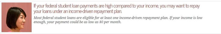 Income based repayment plans can involve payments as low as $0! Be sure to look at your options before you freak out!