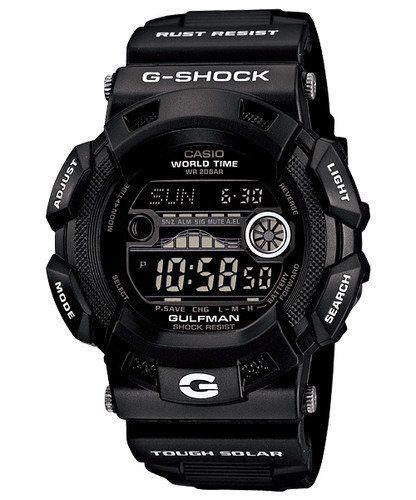 G-Shock Men's GR9110BW-1D Black/Digital Resin Watch Casio. $165.00. Casio G-Shock Gulfman Tide Moon matte Black Dial Men's watch military limited edition GR9110BW-1 GR-9110BW-1