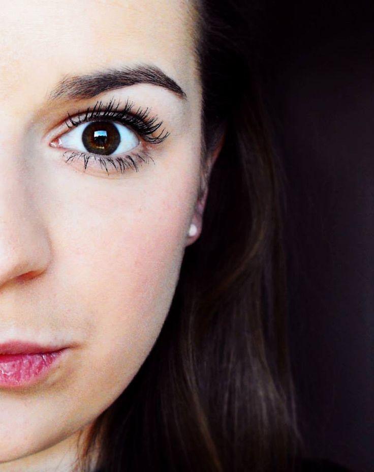 half face girl lips brown eye eyebrow artistic photo