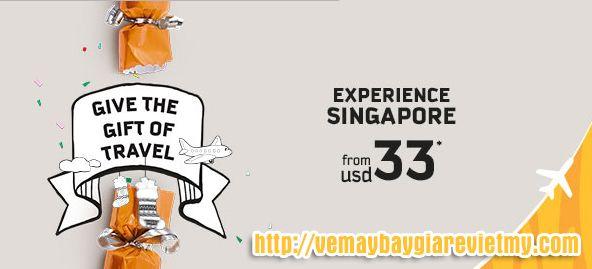 Tigerair khuyến mãi đi Singapore chỉ từ 33 usd
