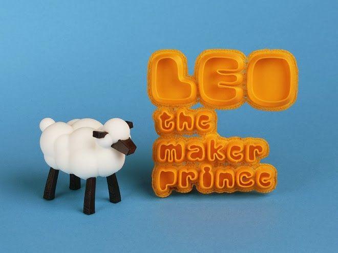 Uma história onde as personagens podem ser impressas em 3D. Uma abordagem criativa para sensibilizar as crianças para a tecnologia 3D.