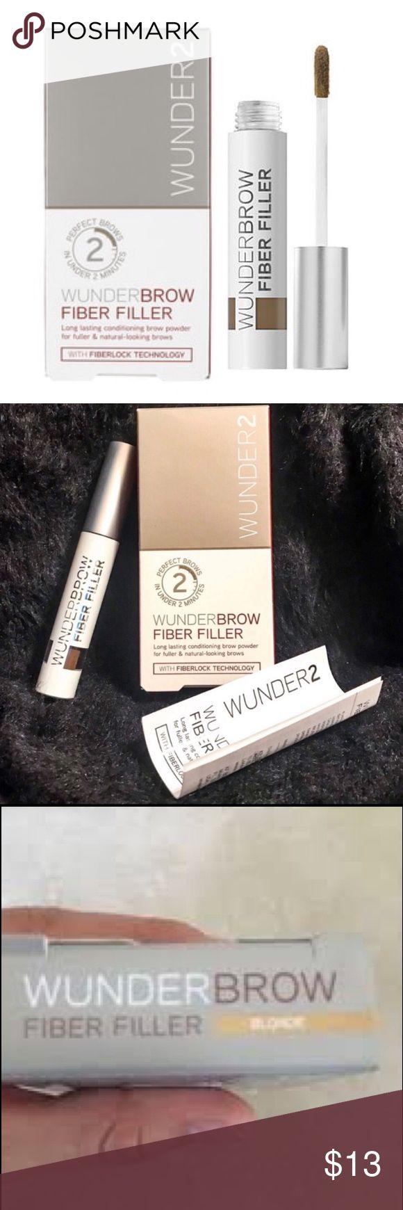 Winderbrow Fiber Filler – Blonde Wunderbrow Fiber …