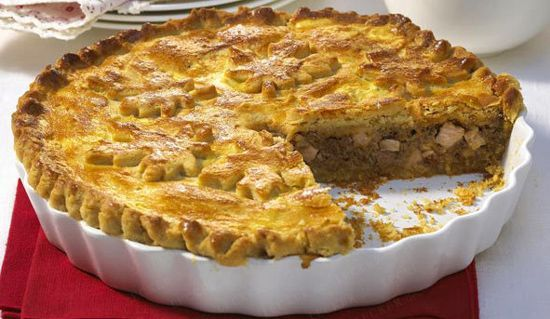tourtiere (meat pie from Quebec) | Canada Day, The Maple Leaf Forever ...