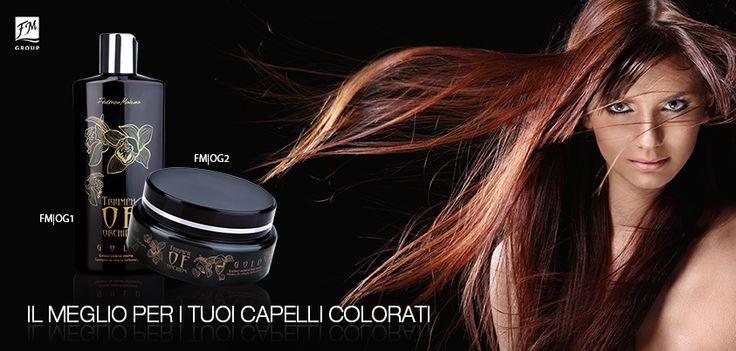#haircare #capelli #triumphoforchids #shampoo #mask #colourhair #FMGroup #FMGroupItalia