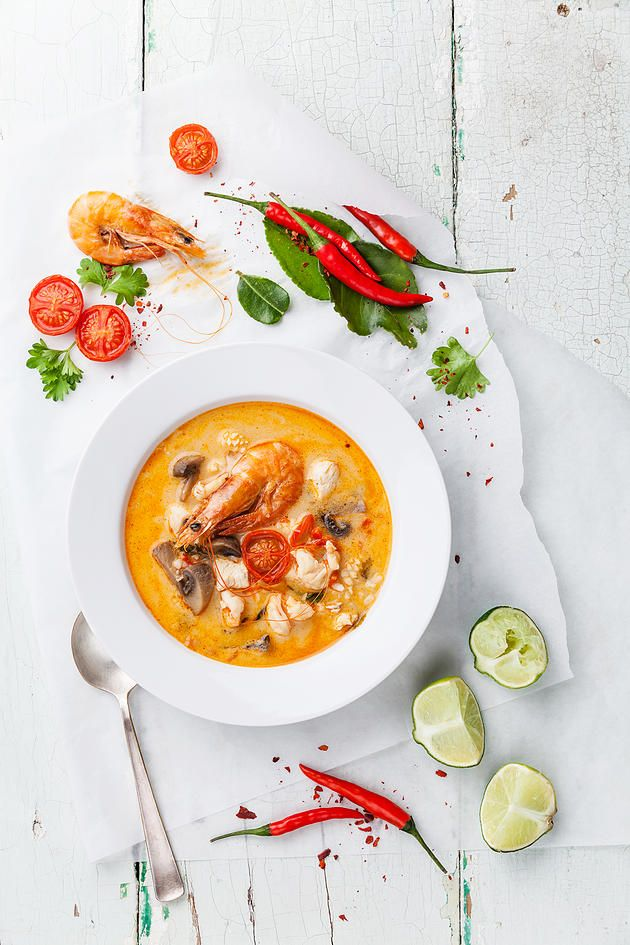 goingcoconuts | Coconut Prawn Curry Soup