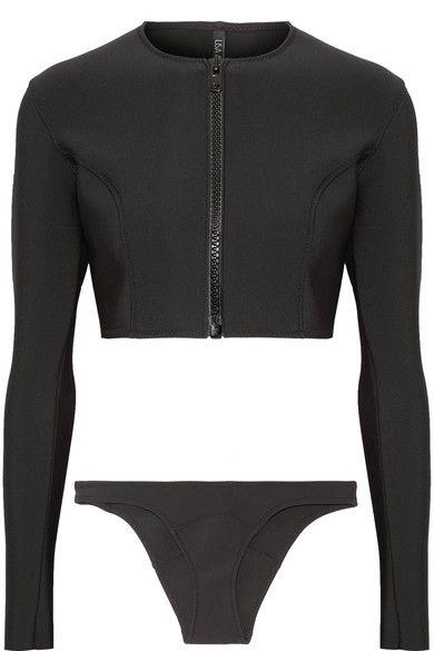 Lisa Marie Fernandez - Farrah Bonded Bikini - Black - 2