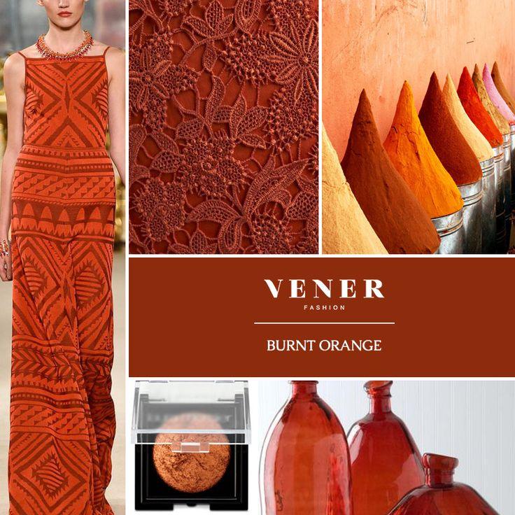 Άλλο ένα αγαπημένο χρώμα της φετινής φθινοπωρινής και χειμερινής σεζόν! Burnt orange, δηλαδή καμένο πορτοκαλί! Θα μπει στη δική σας ντουλάπα; #vener #fashion #color #trends #fashion #fw #winter2015
