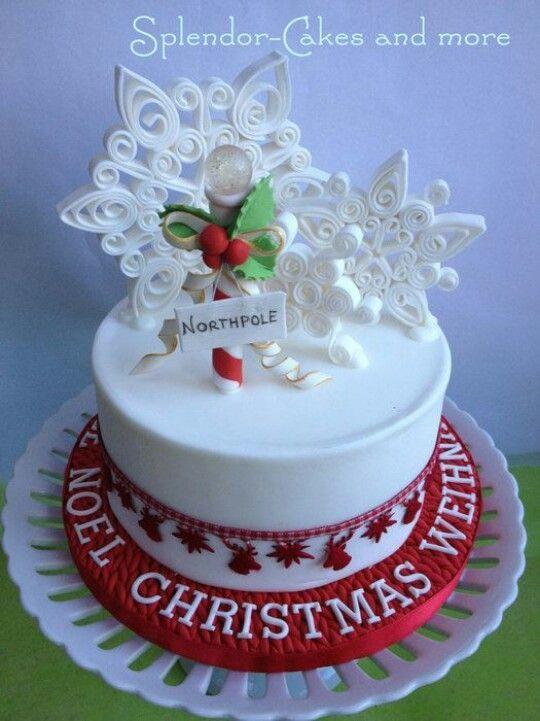 Christmas Cake Decorating | Christmas Cakes