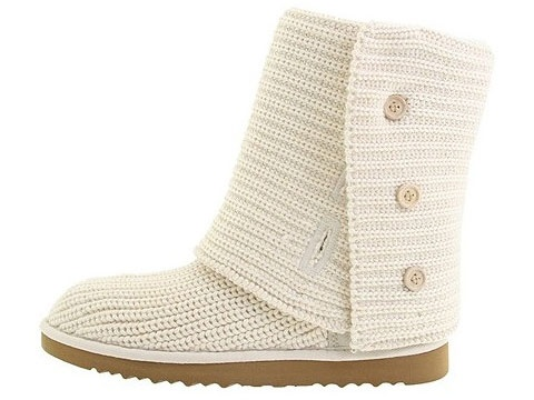 UGG Classic Cardy Boots 5819 Cream  $127.99