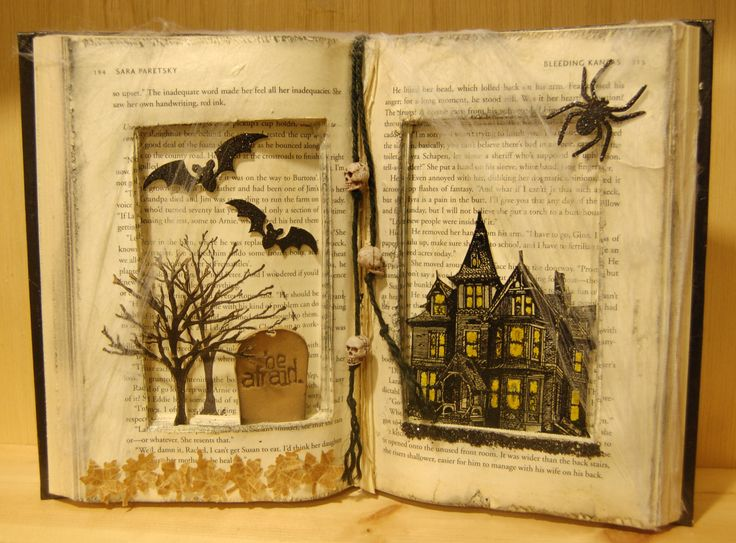 Paper Anthology » Blog Archive Altered Spooky Book »