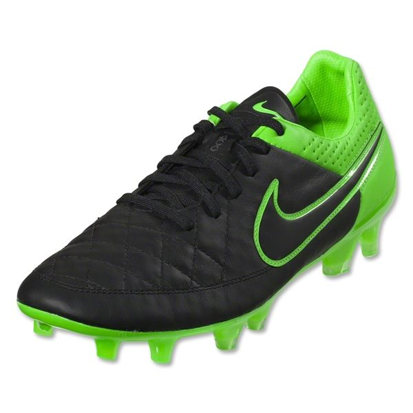 Nike Tiempo Legend V Leather Soccer Cleats · Soccer ShoesNike Soccer CleatsNike  FootwearLegendsCraftGreenBlackLeatherTech