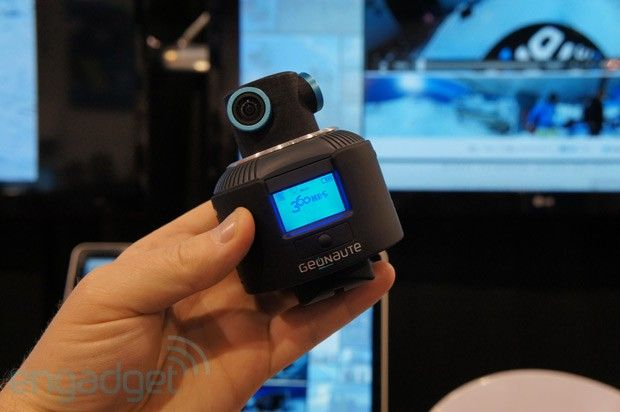 Geonaute's 360 degree sports camera catches all the action, even our hands on