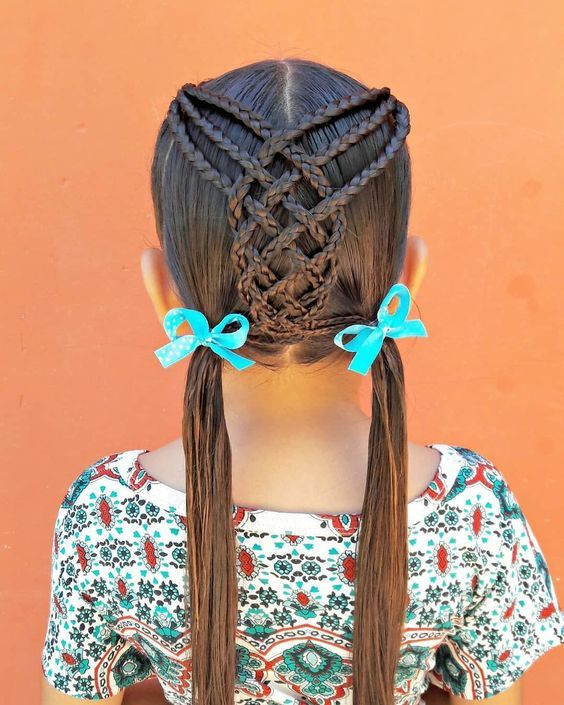 60+ SWEET AND LOVELY CHILDREN'S BRAIDED HAIRSTYLES YOU WILL LIKE – Page 39 of 69
