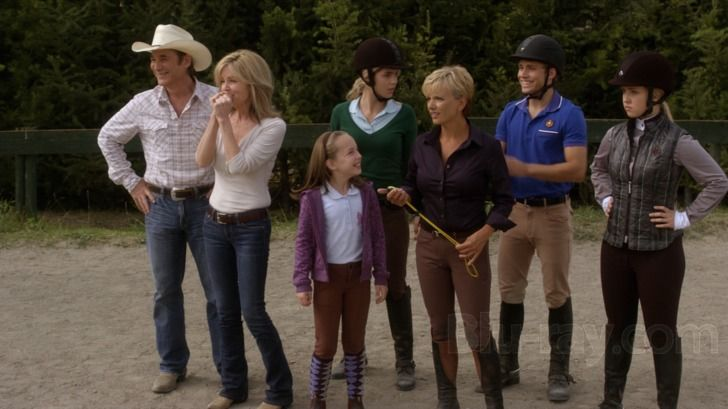 I was overjoyed to see the whole Black family in this film Flicka 3 ..Lily Pearl Black is adorable.